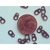 Attaches 7mm CUIVRE par 20 pcs