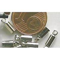 Embouts à coller 1,5mm ARGENT VIEILLI par 20 pcs