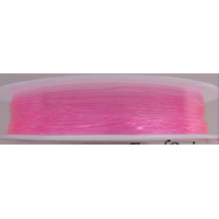 Fil Stretch 0,6mm ROSE par bobine de 12m