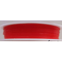 Fil Stretch 0,6mm ROUGE par bobine de 12m