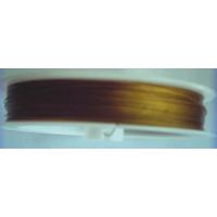 FIL CABLE 0,38mm VIEIL OR par 1 bobine/50m