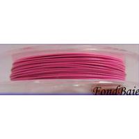 FIL CABLE 0,38mm ROSE par 1 bobine/10m