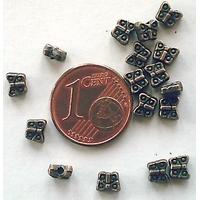 Perles Métal couleur CUIVRE PAPILLON 5mm par 20 pcs