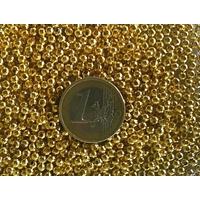 Perles Métal Doré Rondes lisses 3mm par 100 pcs