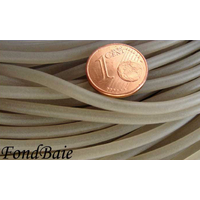 Fil Plastique rond 3mm GRIS FONCE par 1 mètre