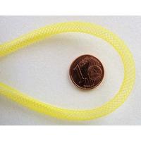 Fil Résille tubulaire JAUNE 4mm par 5 mètres