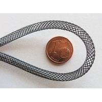 Fil Résille tubulaire NOIR 4mm par 5 mètres