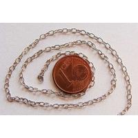 Chainette ovale fil rond ARGENTE 3mm par 10 mètres