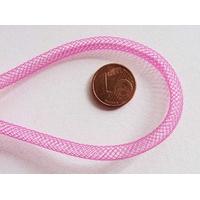 Fil Résille tubulaire Rose FUCHSIA 4mm par 5 mètres