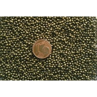 Perles Métal Bronze Rondes 2mm Intercalaires par 100 pcs