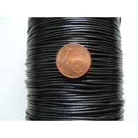 Bobine FIL Mix Coton Nylon 1mm NOIR par 160 mètres