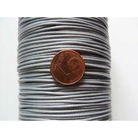 Bobine FIL Mix Coton Nylon 1mm GRIS par 160 mètres
