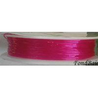 Fil Stretch 0,8mm FUCHSIA par Bobine 5m env