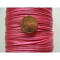 Bobine FIL Mix Coton Nylon 1mm ROSE VIOLET FUCHSIA par 160 mètres