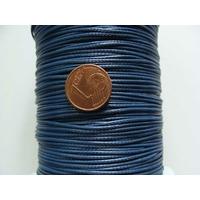Bobine FIL Mix Coton Nylon 1mm BLEU FONCE par 160 mètres