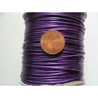 Bobine FIL Mix Coton Nylon 1mm VIOLET par 80 mètres
