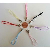Dragonne Attache portable cordon MIX couleurs avec anneau par 20 pcs