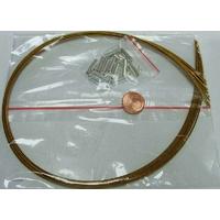 KIT FIL CABLE + fermoirs 1mm VIEIL OR par 10 pièces
