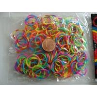 Sachets élastiques MIX couleurs ECONOMIQUE BICOLORES par 180 pcs