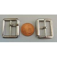 Boucles petite ceinture ou bandoulières ARGENTE VIEILLI par 4 pcs
