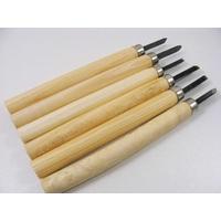 1 lot de 6 outils ciseaux / gouges 14cm
