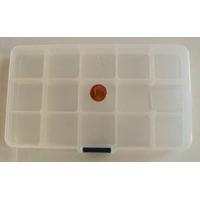 Casier 15 compartiments pour rangement 17,5x10cm par 1 pc
