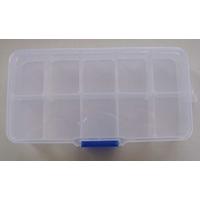 Casier 10 compartiments pour rangement 13x6,7cm par 1 pc
