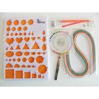 Kit 6 outils pour Quilling Paperolles Gabarit - bandes de papier