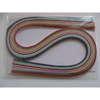 Lot bandes de papier pour Quilling 12 couleurs MIX2 par 120 pcs