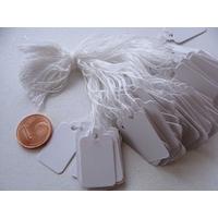 Etiquettes carton 13x23mm par 100 pcs