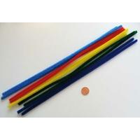Chenilles Cure-pipe 30cm MIX couleurs par 10 pièces