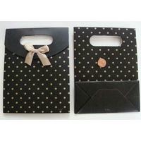 Pochettes Noir poids dorés Carton avec soufflet 16,5cm par 5 pcs