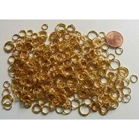 Anneaux mix 4 à 10mm métal doré par 35 grammes