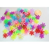 Perles Acrylique Rondelles Marguerite 10mm MIX couleurs par 100 pcs