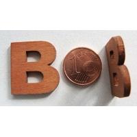 Support Bois 22mm LETTRE B par 1 pc