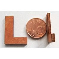 Support Bois 22mm LETTRE L par 1 pc