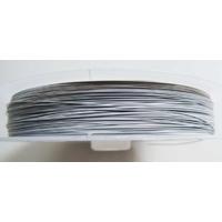FIL CABLE 0,30mm BLANC GRIS par 1 bobine/70m