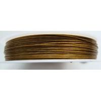 FIL CABLE 0,45mm MARON CLAIR par 1 bobine/50m