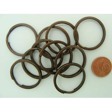 porte-cle anneau cuivre