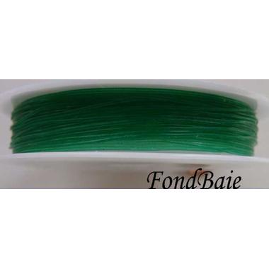 fil stretch vert fonce 08mm
