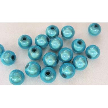 perles miracle 8mm bleu clair