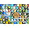 Perles verre Millefiori rondes 8mm MIX par 47 pcs