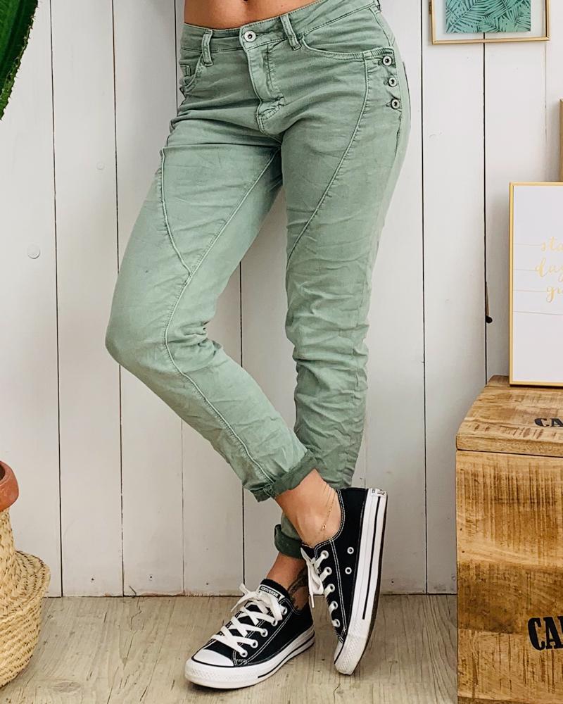 Pantalon MARTY vert