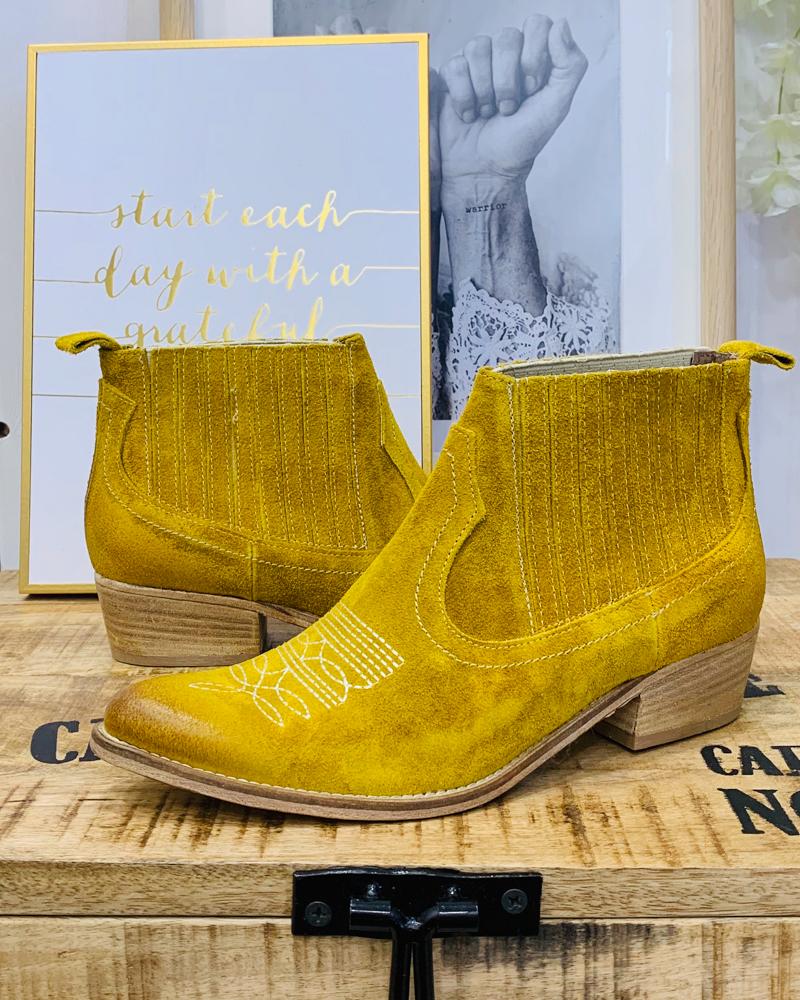 Boots AUSTIN jaune