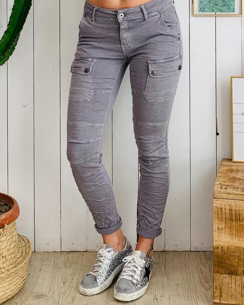 Pantalon MAXIME gris