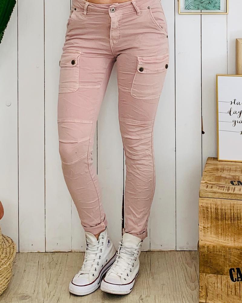 Pantalon MAXIME rose