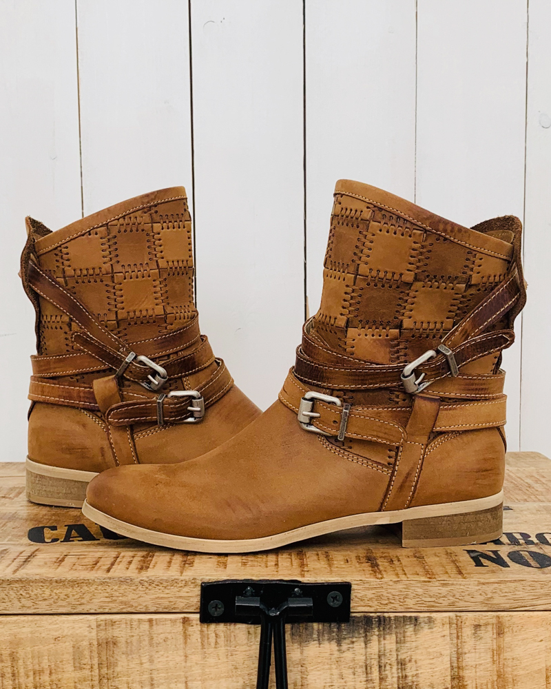 Bottines RASPO camel