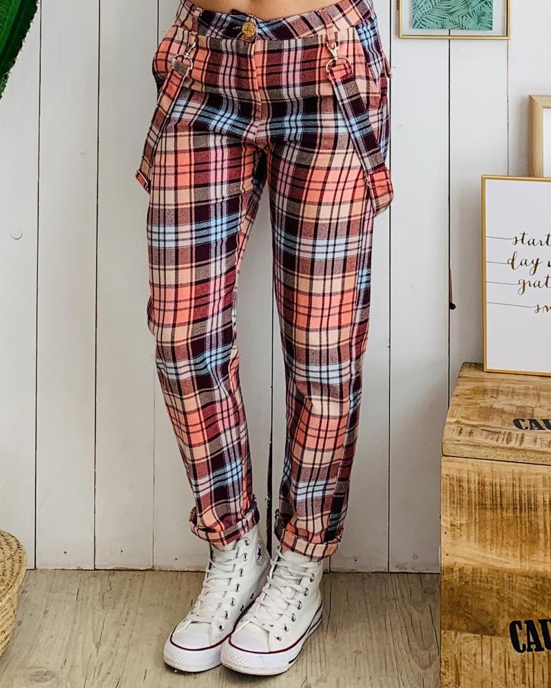 Pantalon CARO rose