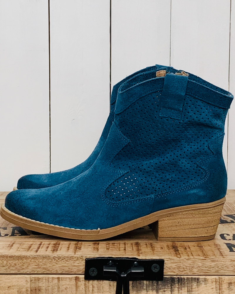 Boots CIAO bleu