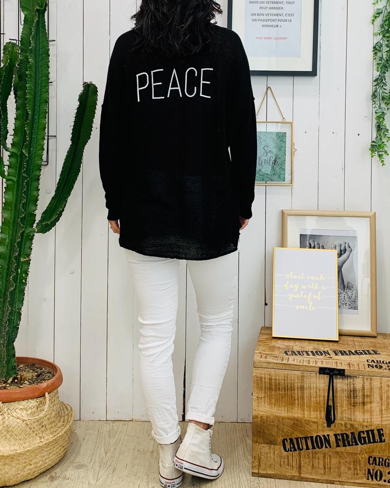 Pull LOLY PEACE noir